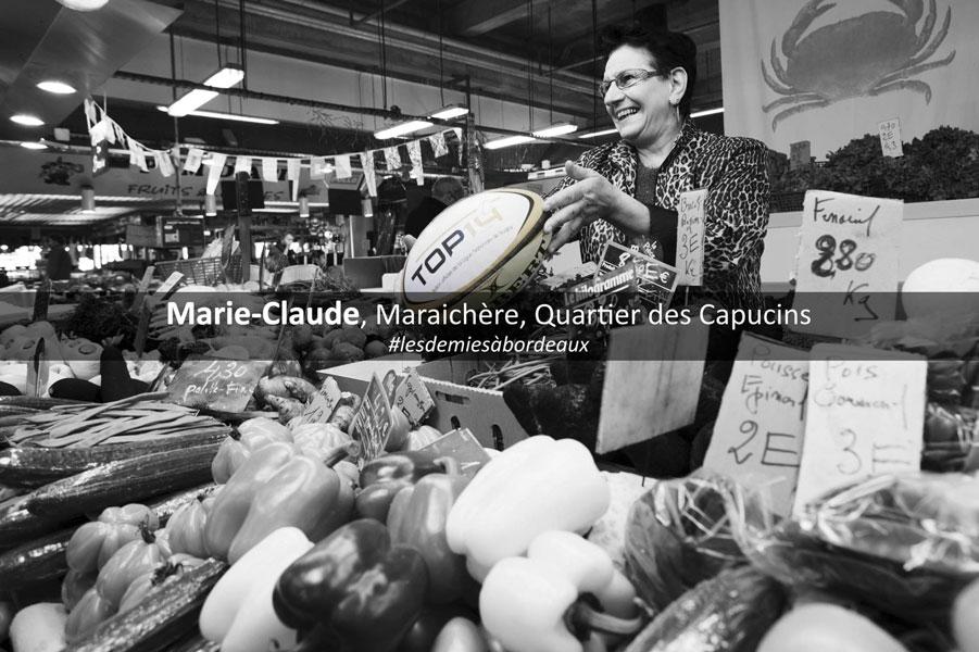 Portraits pour les demi-finales du TOP 14 de rugby au Nouveau Stade de Bordeaux Atlantique